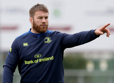 O'Brien insisted last week there weren't any concerns over his fitness for the Six Nations.