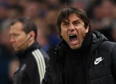 Chelsea's Antonio Conte.