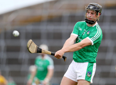 Limerick's Barry Murphy was amongst the UL goalscorers tonight.
