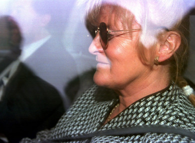 Catherine Nevin leaving the Central Criminal Court in April, 2000.