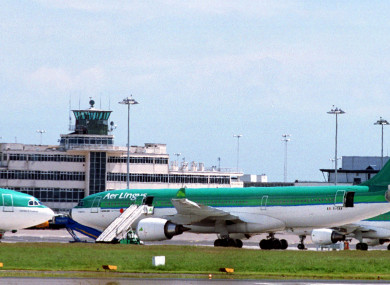 Cham worked for Aer Lingus.