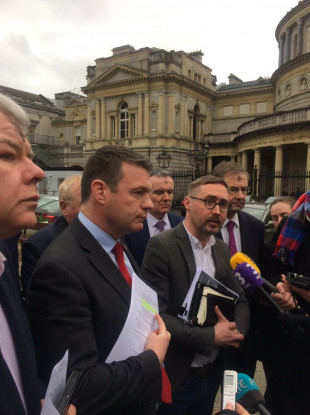 political stroke tds unite   government  rushing  irelands  plan