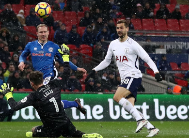 Tottenham striker Fernando Llorente