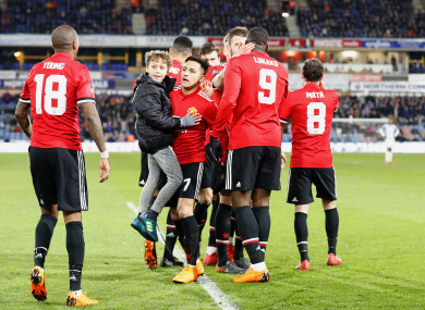 Man United safely progressed this evening.