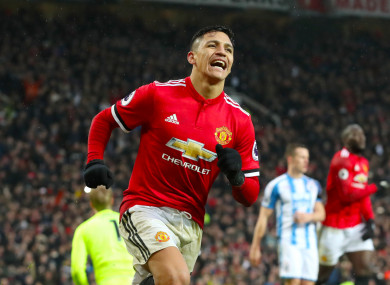 Sanchez saw his second-half penalty saved but scored the rebound.