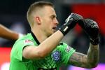 German side score bizarre tap-in after goalkeeper stops to drink from water bottle