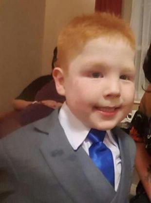 The family of Kayden Fleck have described him as a boy