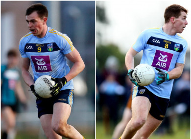 Jack Barry and Barry O'Sullivan both won Sigerson Cup medals last weekend.