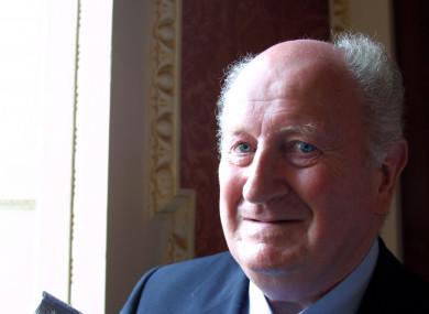 Former Ceann Comhairle Seamus Pattison.