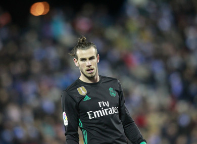 Gareth Bale has struggled to hit top form for Real Madrid of late.