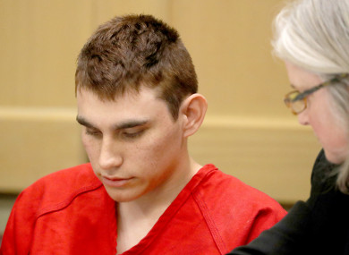 Nikolas Cruz appeared in court dressed in prison uniform.