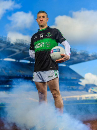 Paddy Gumley at the AIB club finals media day