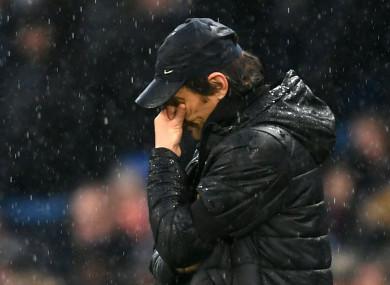 Chelsea head coach Conte.