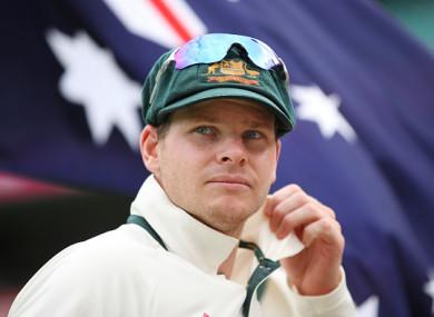 Australian skipper Steve Smith.