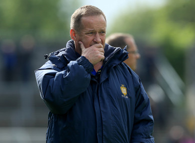Clare football manager Colm Collins (file pic).