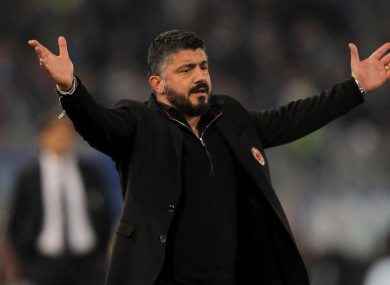 Gennaro Gattuso (file pic).