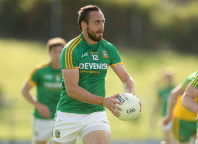 Graham Reilly scored 1-2 for Meath.