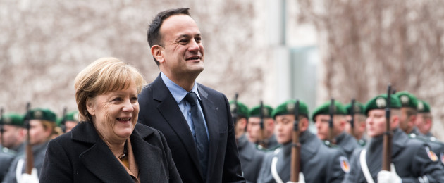 Today was Varadkar's first visit to Berlin as Taoiseach.