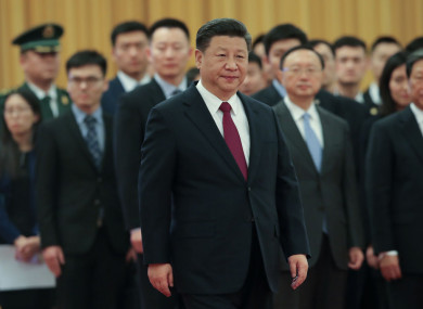 Xi Jinping received near unanimous support in parliament.