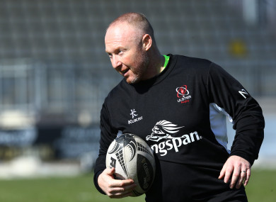 Doak spent three years as Ulster head coach.