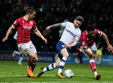 Maguire also scored against Bristol City on Tuesday night.