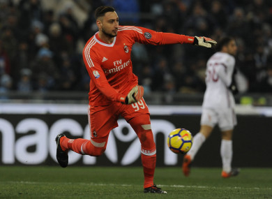 The 19-year-old was the hero in AC Milan's penalty shoot-out win over Lazio.