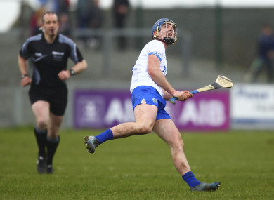 Curran was in prolific form for Waterford this afternoon.