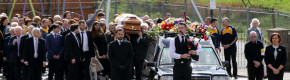 'An amazing presence', 'a humble man': Hundreds attend funeral of music icon Big Tom