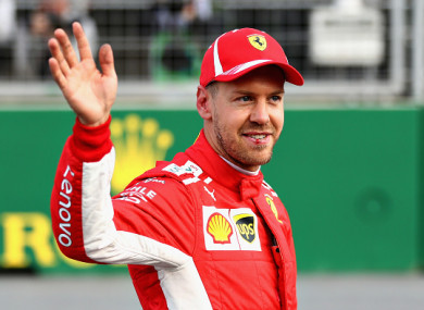 Vettel on pole for the Azerbaijan Grand Prix ahead of ...