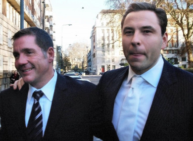 Dale Winton (left) was good friends with David Walliams (right).