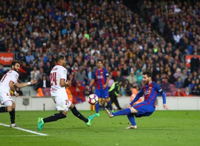 Mercardo coming up against compatriot Messi.