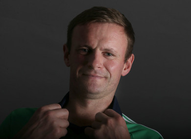 Ireland captain William Porterfield.