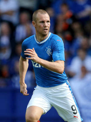 Kenny Miller is one of the Rangers players who has been suspended.