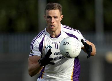 Paul Mannion was part of the winning Kilmacud Crokes side tonight.