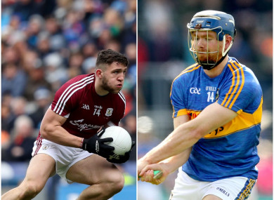 Galway's Damien Comer and Tipperary's Jason Forde both claimed the individual awards.
