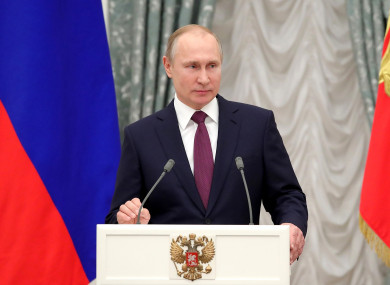 Russia has repeatedly accused rebels of staging chemical attacks.