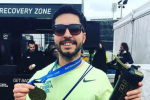 Masterchef semi-finalist dies while running the London marathon in memory of his dad
