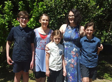 Katrina Miles and her four children were killed