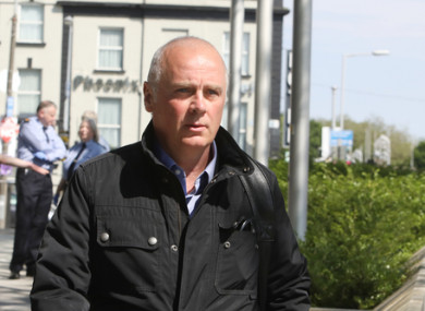David Drumm pictured at the Criminal Courts of Justice