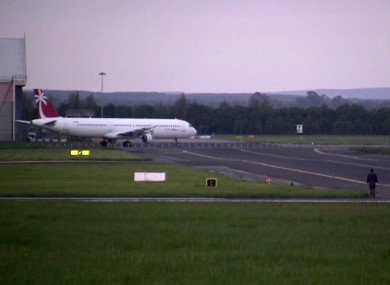 Flight at Shannon Airport