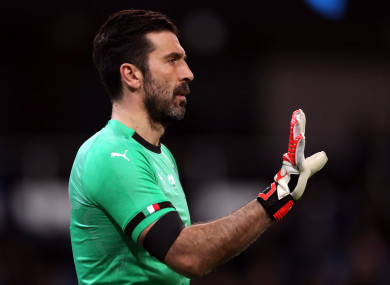 He wants to keep on playing  - Mancini leaves Italy door open for Buffon  amid PSG speculation 06d5dc8b2