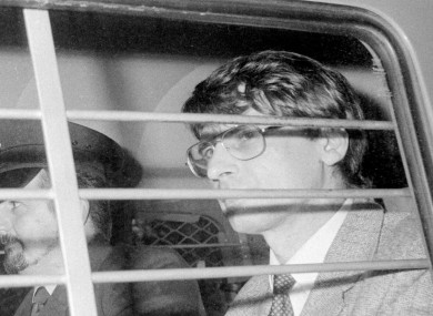 Dennis Nilsen after he was sentenced in 1983.
