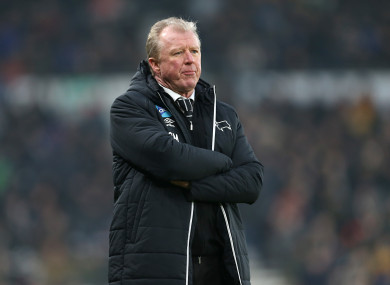 The 57-year-old's last role in England was at Derby County.