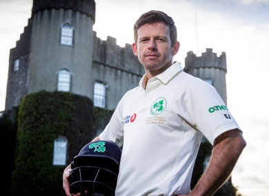 Joyce during a media day at Malahide Castle earlier this year.