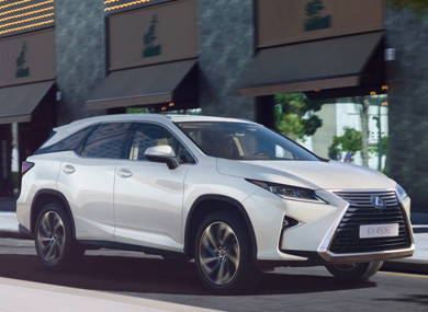 Lexus 7 Seater Suv >> Lexus Announces Irish Prices For First Ever Seven Seater The Rx 450hl