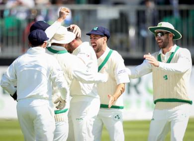 Ireland enjoyed two good sessions before Pakistan hit back.