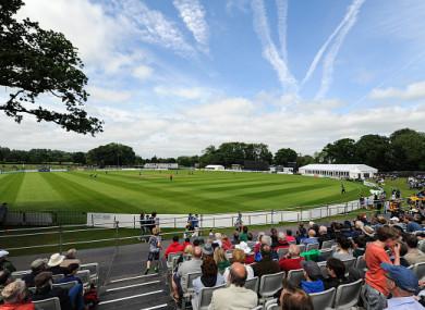 Malahide cricket ground, which will host next week's Test against Pakistan.