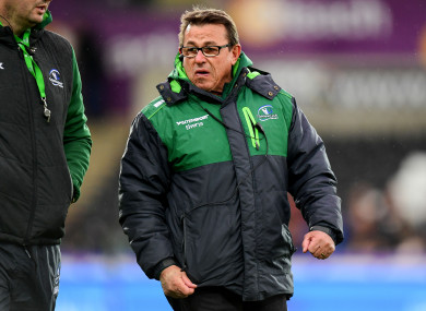 Connacht won just seven games in Keane's first season in charge.
