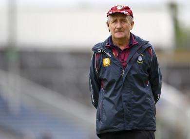 Westmeath boss Michael Ryan