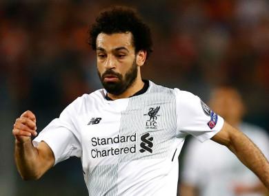Egyptian king: Mohamed Salah.